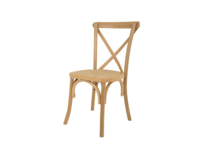 Crossback Natural Chair